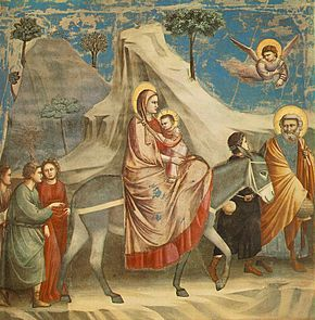 290px-Giotto_-_Scrovegni_-_-20-_-_Flight_into_Egypt